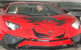 """Tình cũ Rihanna """"độ"""" siêu xe Lamborghini Aventador SV khác người"""