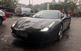 """Bật mí về biển số """"lạ"""" trên siêu xe Ferrari 488 GTB tại Thủ đô"""