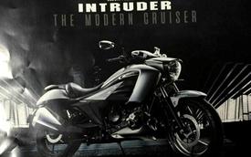Xe cruiser giá rẻ Suzuki Intruder 150 được hé lộ thêm thông số chi tiết
