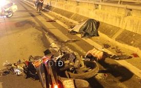 Chạy ngược chiều trên cầu Bình Lợi, nam thanh niên tông trực diện ô tô, tử vong tại chỗ
