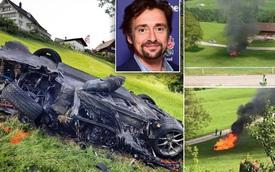 Cựu ngôi sao Top Gear phá nát siêu xe Rimac Concept One mạnh 1.088 mã lực
