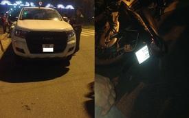 Nghệ An: Ford Ranger va chạm với xe máy rồi bỏ chạy, 2 người bị thương nặng