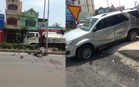 Quảng Ninh: Xe máy chạy ngược chiều, va chạm Toyota Fortuner, 1 người tử vong