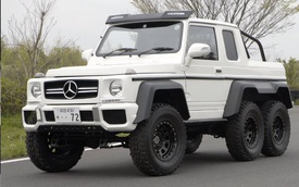 Nhóm sinh viên tự chế Mercedes-AMG G63 6x6 với chi phí hơn 200 triệu Đồng