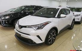 """Ảnh chi tiết Toyota C-HR - hàng """"hot"""" Nhật Bản đầu tiên cập bến Việt Nam"""