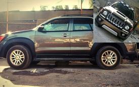 Hãng độ chi gần 500 triệu Đồng để biến Toyota Fortuner thành Jeep Renegade
