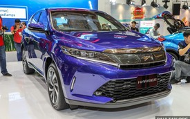 Chi tiết SUV 5 chỗ Toyota Harrier 2018 tại Malaysia, không còn là phiên bản giá rẻ của Lexus RX