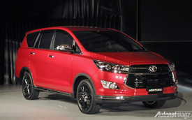 Toyota Innova bản Venturer cao cấp nhất mới trình làng, giá từ 653 triệu Đồng