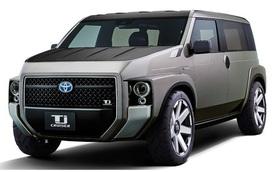 """Toyota Tj Cruiser - Con chung của """"anh SUV"""" và """"chị xe van chở hàng"""""""