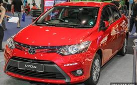 Ngắm Toyota Vios 2017 có camera 360 độ mới ngoài đời thực