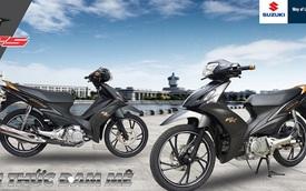 Xe côn tay Suzuki Axelo 125RR tại Việt Nam có thêm màu đen mờ hầm hố