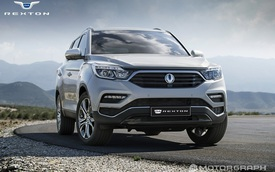 Ssangyong Rexton 2017 - Xe SUV tham vọng cạnh tranh với Land Rover Discovery