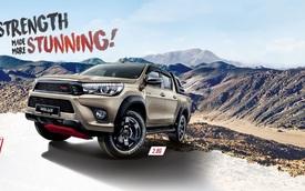 Xe bán tải Toyota Hilux thêm ấn tượng với gói phụ kiện TRD chính hãng