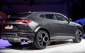 Ảnh thực tế siêu SUV Lamborghini Urus vừa ra mắt