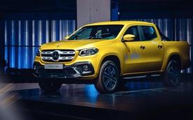 """Cận cảnh vẻ đẹp """"bằng xương, bằng thịt"""" của xe bán tải hạng sang Mercedes-Benz X-Class 2018"""