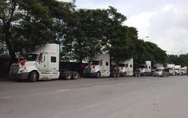 Hải Phòng: Rước dâu bằng 9 xe đầu kéo
