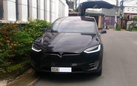 Tesla Model X P100D thứ 2 Việt Nam ra biển số Đồng Nai