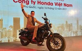 Rebel 300 phân phối chính hãng - khởi đầu mới của Honda Việt Nam