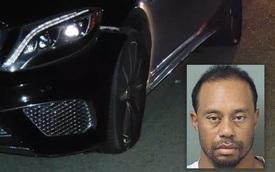 Tay golf Tiger Woods phá hỏng xe sang Mercedes-Benz S65 AMG