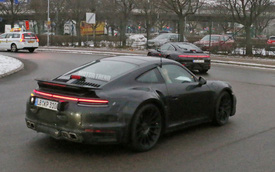 Porsche 911 Turbo thế hệ mới xuất đầu lộ diện