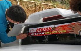Bóc decal ủng hộ U23 Việt Nam sẽ hại xe như thế nào?