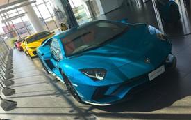 Mục sở thị showroom Lamborghini lớn nhất thế giới
