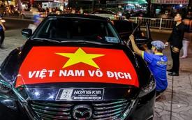 """Thị trường dán decal ô tô, xe máy """"bùng nổ"""" trước trận chung kết AFC CUP 2018"""