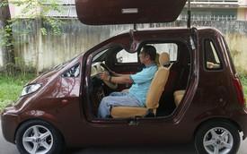 Người đàn ông mới học đến lớp 9 bỏ hàng trăm triệu chế tạo ô tô điện