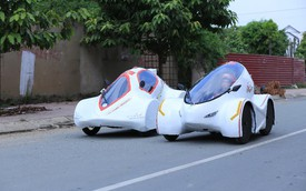 """Những điều thú vị về chiếc """"siêu xe"""" tiết kiệm nhiên liệucủa sinh viên Việt Nam"""
