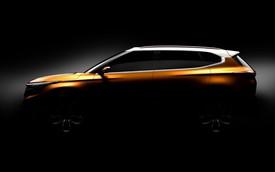 Kia hé lộ concept SUV hoàn toàn mới