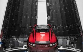 Tesla đưa Roadster... lên vũ trụ để lưu lạc 1 tỉ năm