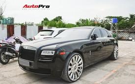 """Rolls-Royce Ghost lắp vành """"dị"""" nhất Việt Nam"""