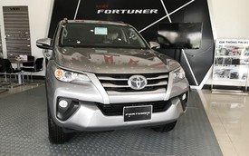 Toyota Fortuner quay trở lại lắp ráp tại Việt Nam, giá tăng nhẹ, từ 1,033 tỷ đồng