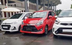 Bị chê tơi tả nhưng Toyota Wigo đã bán vượt Kia Morning và bám sát Hyundai Grand i10