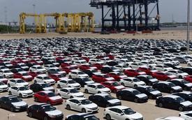 Xe ô tô nhập về Việt Nam trong tháng 9 có giá trung bình 490 triệu đồng/chiếc