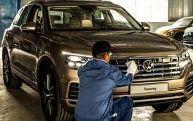 HOT: SUV 5 chỗ Volkswagen Touareg 2019 chung khung gầm Lamborghini Urus đã về Việt Nam, sẵn sàng ra mắt