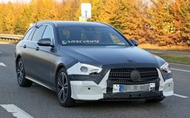 Mercedes-Benz E-Class 2020 bất ngờ lộ diện với bộ mặt hoàn toàn mới