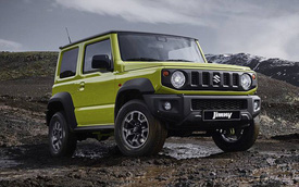 """""""Tiểu G-Class"""" Suzuki Jimny sản xuất không kịp trước sức mua của khách hàng"""