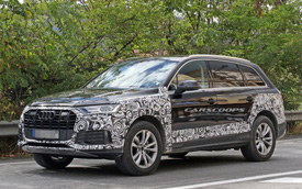 Audi gấp rút chuẩn bị Q7 facelift với tản nhiệt, đèn pha mới để cạnh tranh Mercedes-Benz GLE, BMW X5