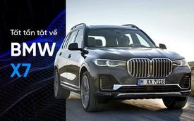 Tất cả những điều bạn cần biết về BMW X7 mới ra mắt