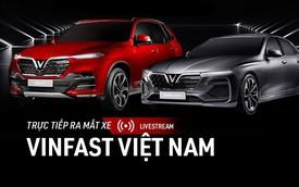 Tường thuật trực tiếp lễ ra mắt 2 mẫu xe VinFast tại Paris Motor Show 2018
