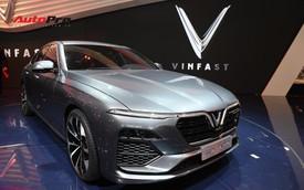 HOT: Chi tiết ngoại thất sedan VinFast LUX A2.0 vừa ra mắt hoành tráng tại Paris Motor Show 2018