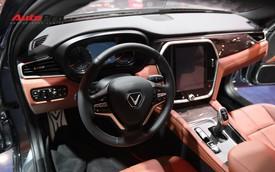 Chùm ảnh nội thất sedan VinFast LUX A2.0: Sang trọng và hiện đại hệt xe châu Âu