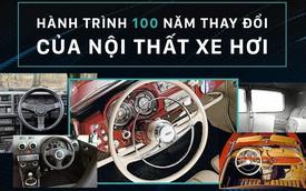 Nội thất xe hơi đã thay đổi như thế nào trong 100 năm qua