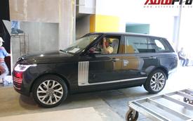 Hàng nóng Range Rover Autobiography LWB lộ diện ngay trước thềm Triển lãm Ô tô Việt Nam 2018