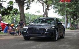 Audi A7 Sportback đã về tới SECC tham dự Triển lãm Ô tô Việt Nam 2018