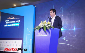 Sân chơi nội địa lớn nhất năm Triển lãm ô tô Việt Nam 2018 chính thức khai mạc