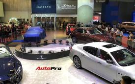 Live: Hồ Ngọc Hà khuấy động Triển lãm Ô tô Việt Nam 2018 với dàn xe Maserati đậm chất Ý