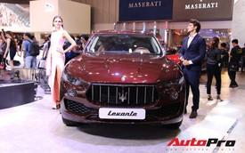 Gian hàng Maserati tại Triển lãm ô tô Việt Nam 2018: Khi sự sang trọng kết hợp yếu tố thể thao
