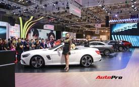 Gian hàng rộng nhất Triển lãm Ô tô Việt Nam 2018 của Mercedes-Benz có gì thú vị?